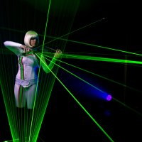 Lumina Laser Violinists for events