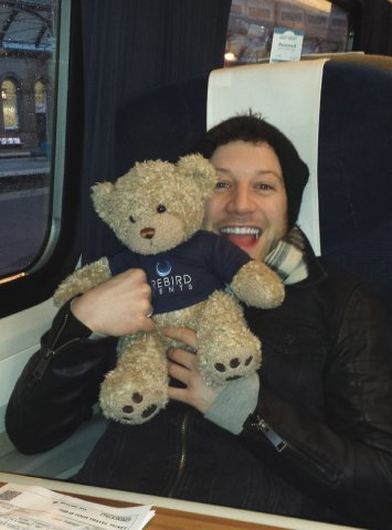 Ted and X Factor winner Matt Cardle