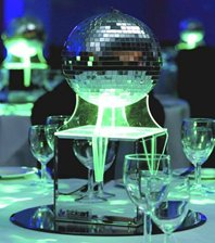 Mirrorball Low Table Centre