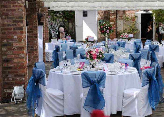 Chair covers at Northbrook Park