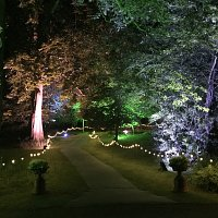 Festoon lighting for hire