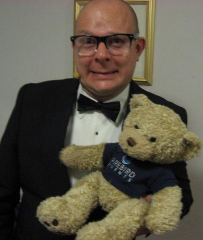 Ted with Paul Burling from Britain's Got Talent