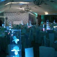 LED Table centers at Pennyhill Park