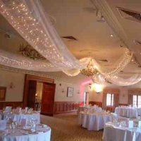 Fairy Light Canopy at Pennyhill Park Hotel