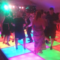 Dance floor to hire at Pennyhill Park