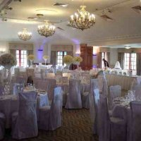 Chair covers at Pennyhill Park