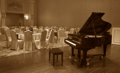 Pianist to hire for weddings