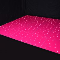Hot Pink LED Dance Floor for hire