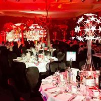 LED Table Centers at Radisson Edwardian Heathrow