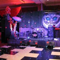 Black & White Dance floor at Radisson Edwardian Heathrow