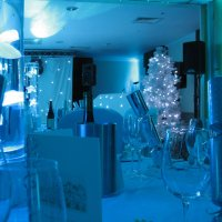 Uplighters at Frimley Hall Hotel
