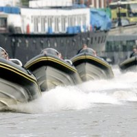 River Thames rib boat team building activity
