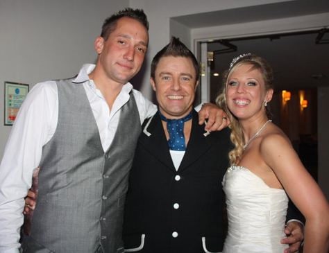 Robbie Williams Tribute for weddings