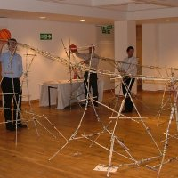 Rollercoaster team building activity
