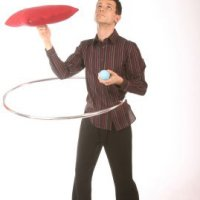 Comedy juggler for hire