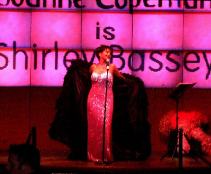 Shirley Bassey tribute for weddings