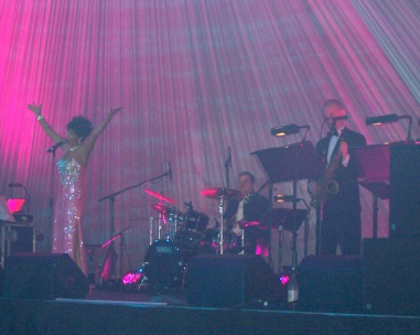 Shirley Bassey tribute for events