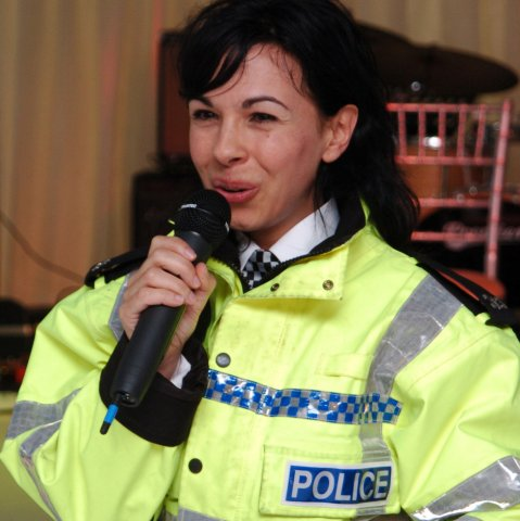Singing Police for events