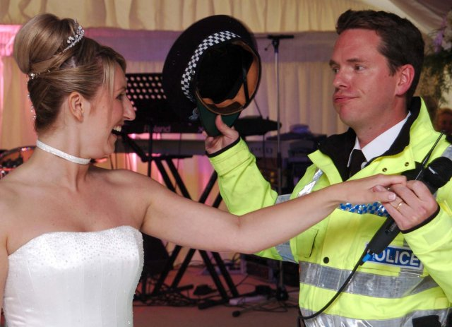 Singing Police for weddings
