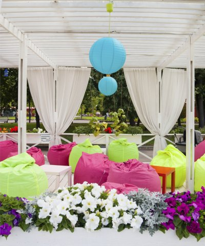 Soft Cubes & Bean Bags to hire for weddings