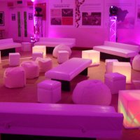 Soft Cubes Bean Bags for Hire