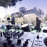 Sound production hire for events