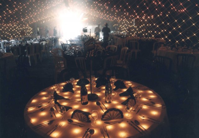 Starcloth Table Tops for weddings