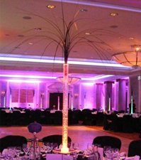 Steelgrass Burst Table Centre