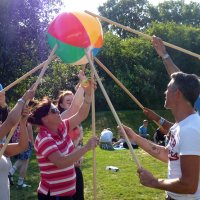Sun and games team building activity