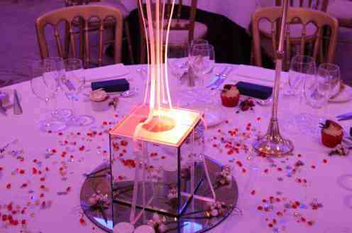 LED Table centers at The Savoy
