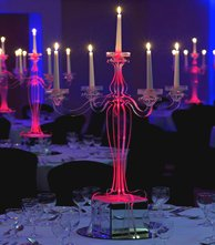 The Acrylic Candelabra