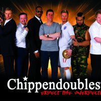 The Chippendoubles for hire