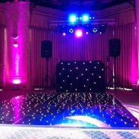 Magenta Uplighters at The Elvetham Hotel