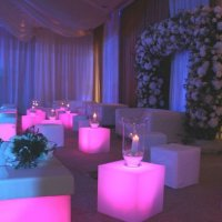 LED Furniture for hire