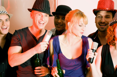 Live Karaoke Band for events