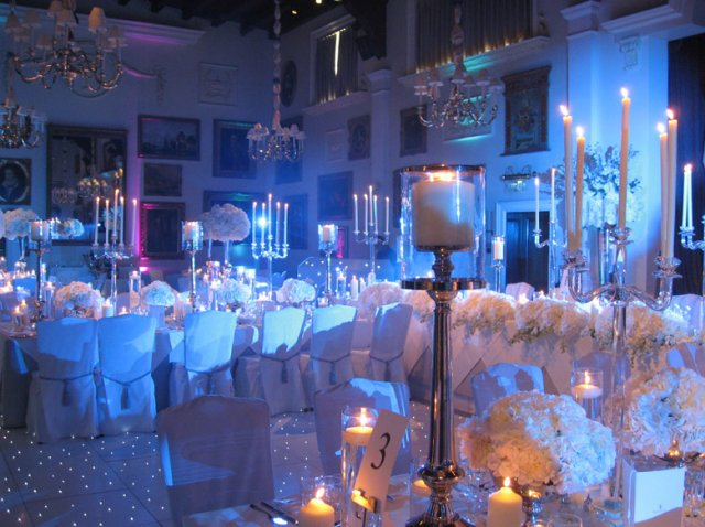 Uplighters for hire for weddings