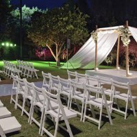 Chair hire for ceremonies