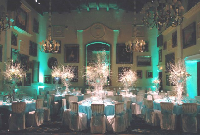Lighting for weddings