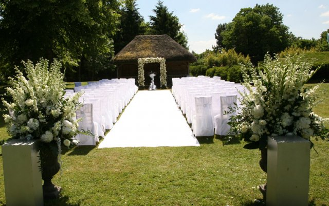 Outside ceremony ideas