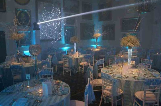 Wedding set up at Wentworth