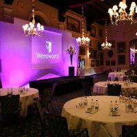 Private Event Set Up at Wentworth