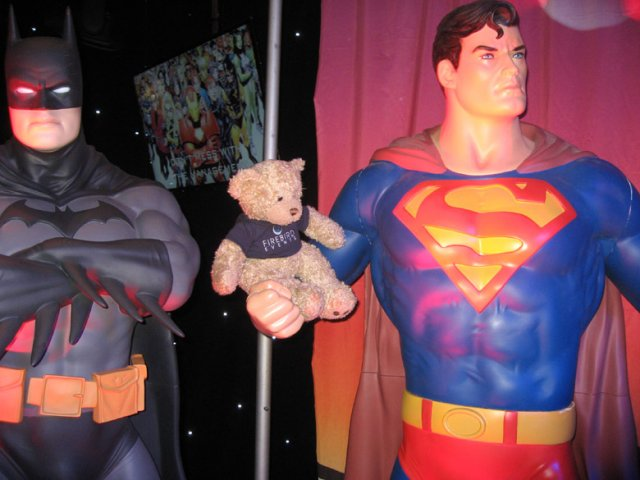 Firebird Ted with Super Man!
