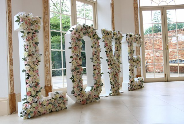 Wedding Letters to hire