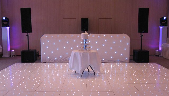 Dancefloor and DJ to hire